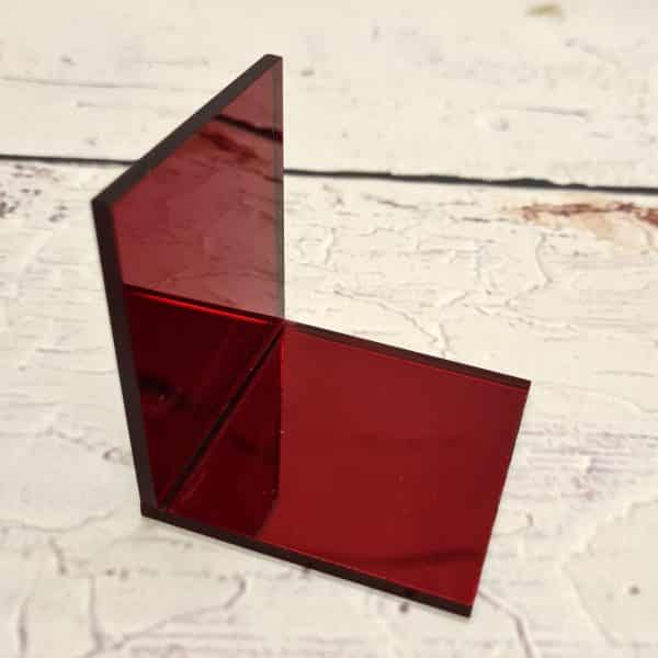 3mm Red Mirror 1400
